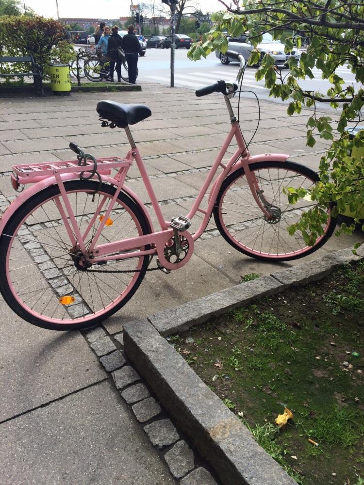 A locked bike