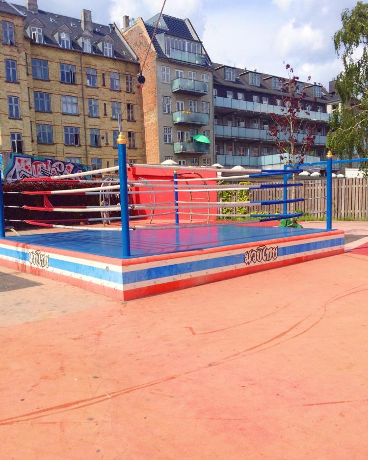 The random boxing ring